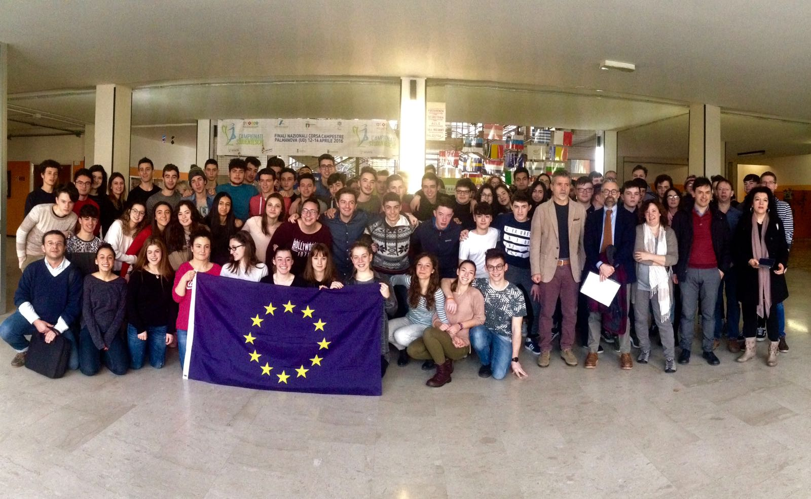 Erasmus Mobility Italy- group photo