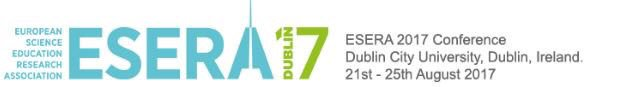 21st – 25th August 2017 – ESERA, Dublin, Ireland