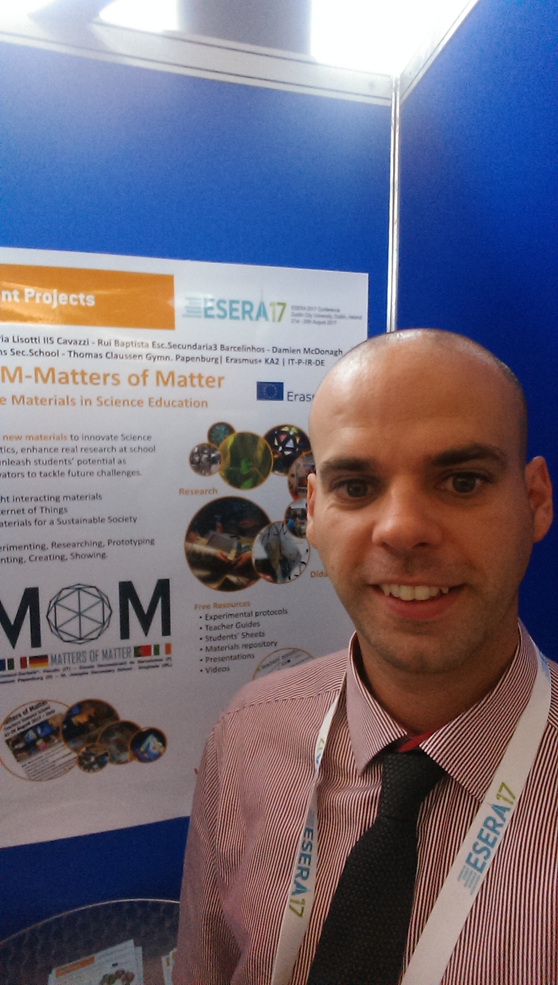 MOM attends ESERA 2017